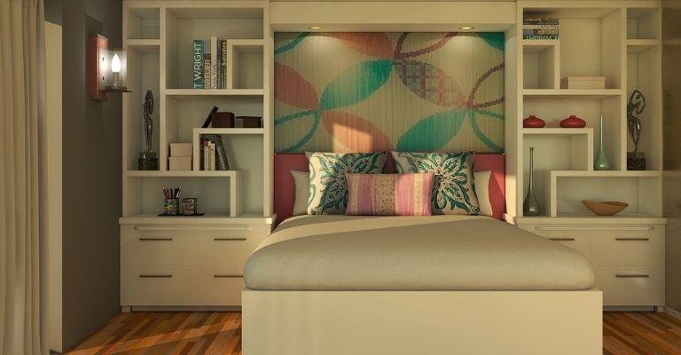 apoiar móveis nas paredes