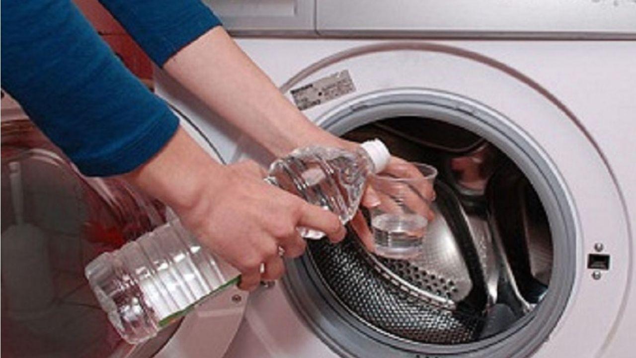 como limpar maquina de lavar com vinagre e agua sanitaria