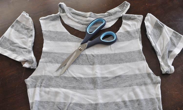 recortar camiseta