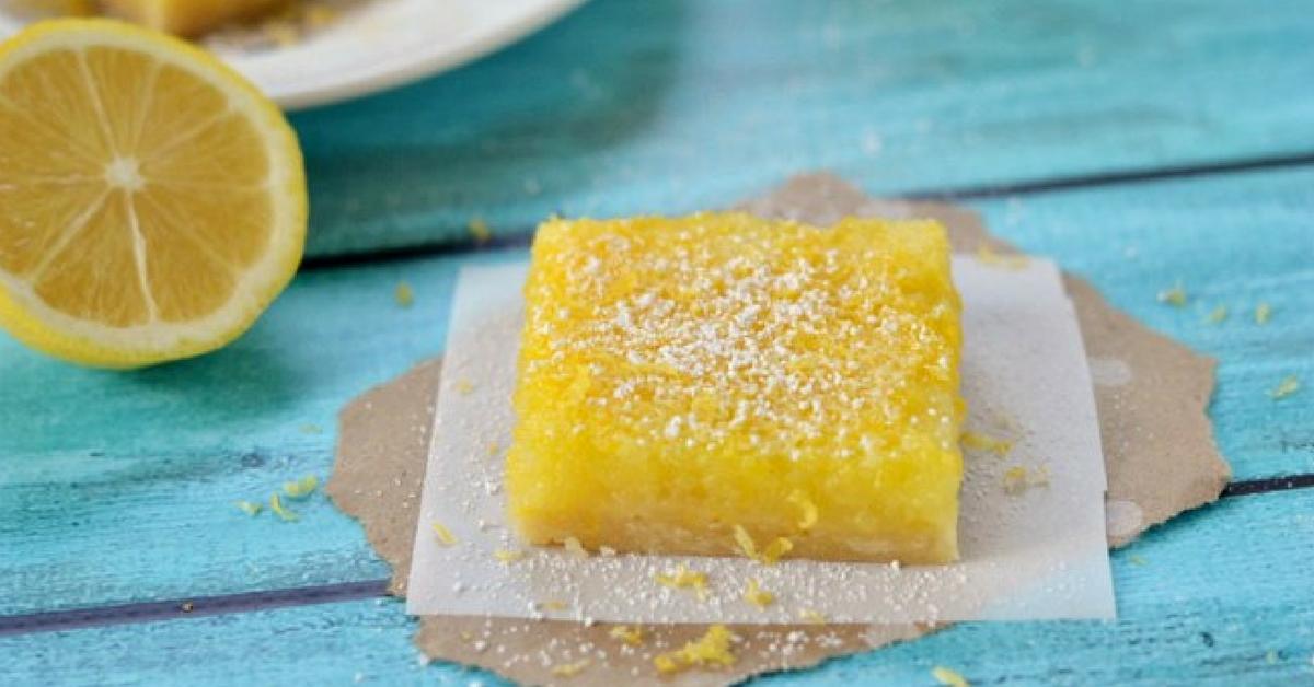 bolo de limão no microondas