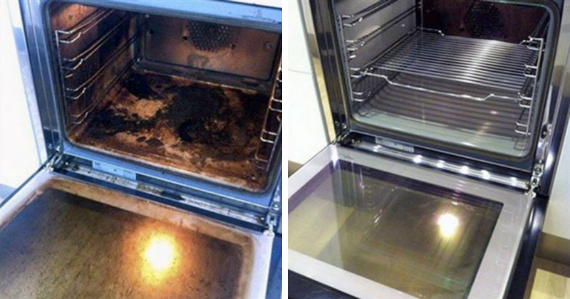 como limpar forno elétrico