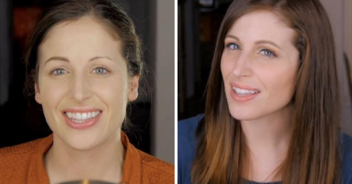 Sobrancelha muito fina antes e depois