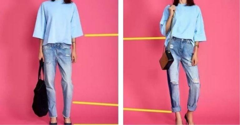 jeans de cintura alta