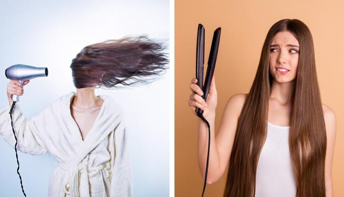 Usar secador de cabelo
