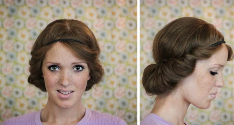 Faixa no cabelo