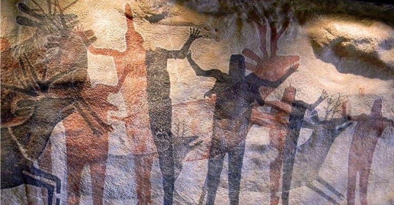 pinturas rupestres de mulheres